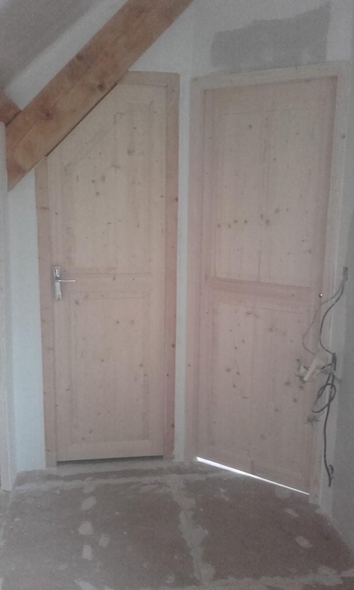 Porte interieur sapin